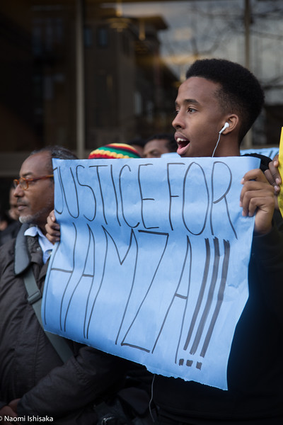 Justice for Hamza - Vigil and March
