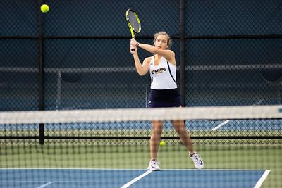 Girls Varsity Tennis vs. Catholic High School