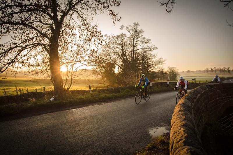 Sunset cycling...