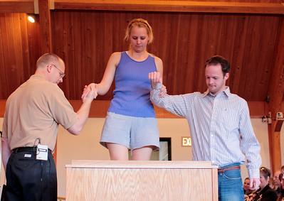 2009 Spring Baptism (Shot by Bob Hamann)