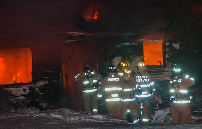 Structure Fire - 14 Williams Dr, Prospect, CT - 2/23/15