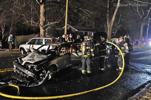 2-10-12 Oradell, NJ Motor Vehicle Accident: Spring Valley Road & Schaefer Avenue