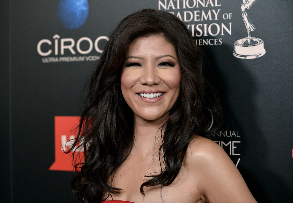 . Julie Chen arrives at the 40th Annual Daytime Emmy Awards on Sunday, June 16, 2013, in Beverly Hills, Calif. (Photo by Richard Shotwell/Invision/AP)