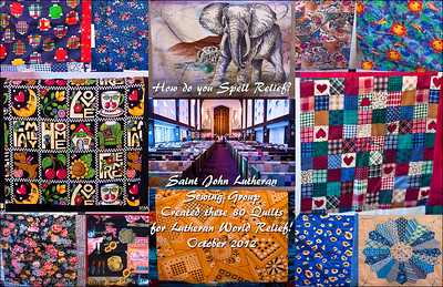 SJL - 80 Quilts for LWR 2012