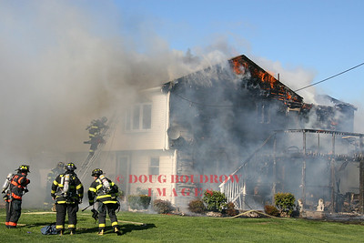Saugus, MA - Working Fire, 54 Spencer Ave, 5-6-07