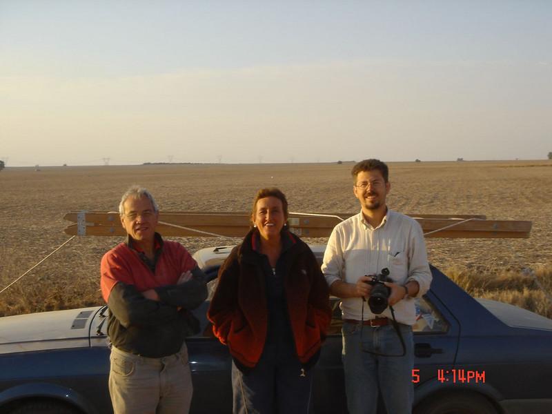 George, Maria Julia and Ramon