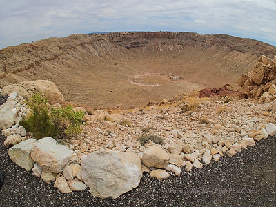 Meteor Crater July 2013