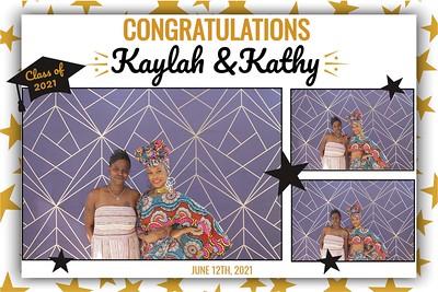 Kaylah & Kathy's Grad 6/12/2021