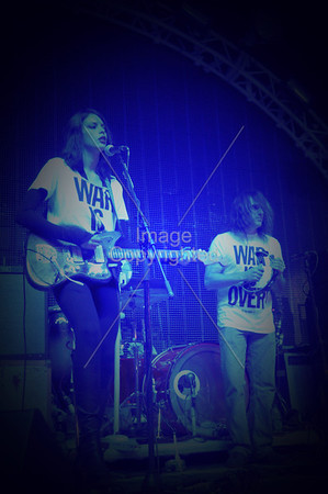 Charlotte Kemp Muhl, Plastic Ono Band, Kliph Scurlock,  New Years Freakout 5. Dec. 31,2011. Oklahoma City, Oklahoma