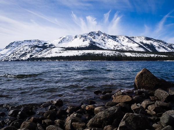 Lake Tahoe January visit