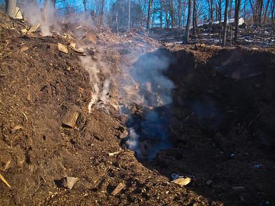 1-3-09 Mulch Fire, Garrison Tree Service