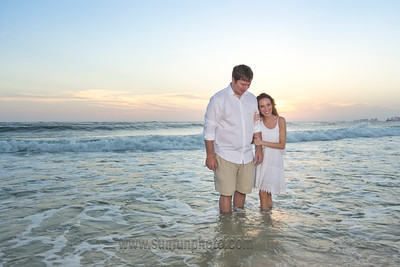 Nelson Tumlin Engagement Pictures Panama City Beach Florida 2015