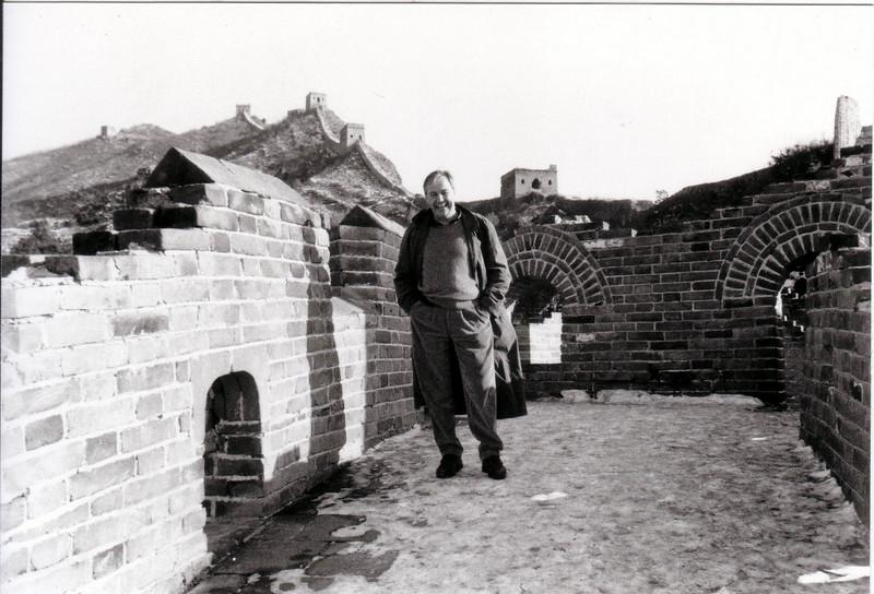 taken winter 1997 Winter at the Great Wall at Simatai - January 1997 and again 1998