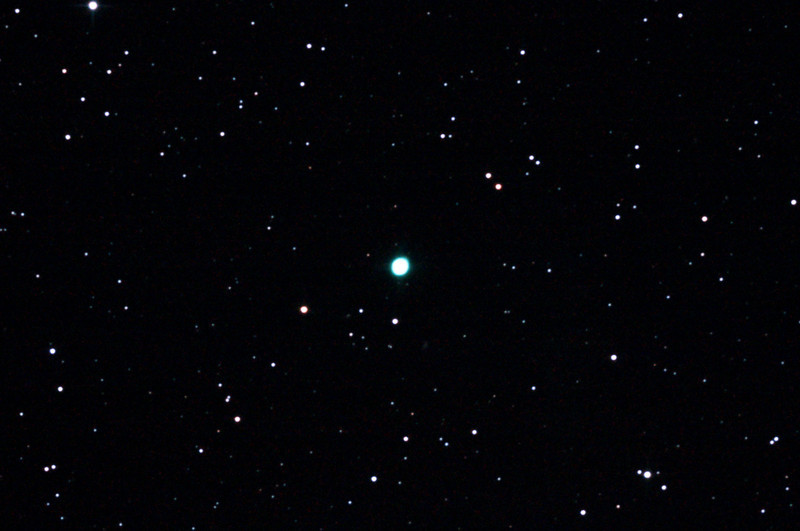 Caldwell 59 - NGC3242 - Ghost of Jupiter - Planetary nebula in Hydra - 8/2/2013 (Processed cropped stack)