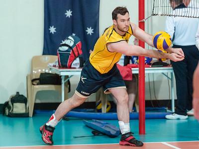 2013 AVL Canberra Heat v Vic Volleyball Academy (men)