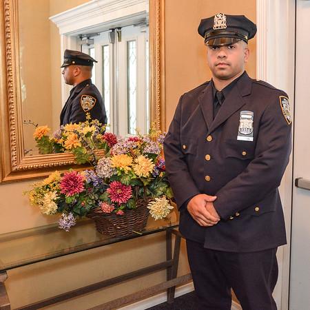 Johnathan's Police Academy Graduation