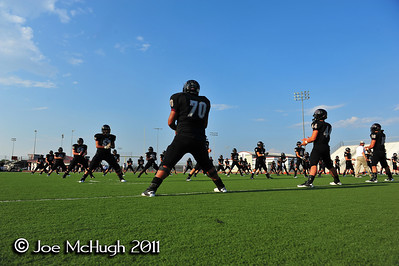 Pearland Oilers -vs- Kempner Cougars 9-2-11 Senior Night