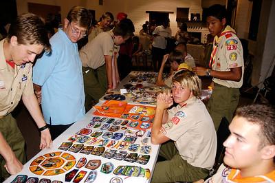 8/29/2005 Troop Meeting after National Jamboree