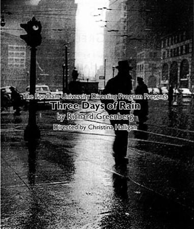 Three Days of Rain (Dec. 7-9, 2009)