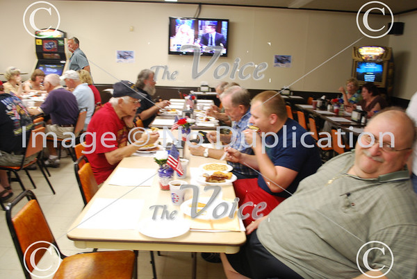Sugar Grove, IL Veterans Memorial Day breakfast at American Legion Post 1271   5-28-12