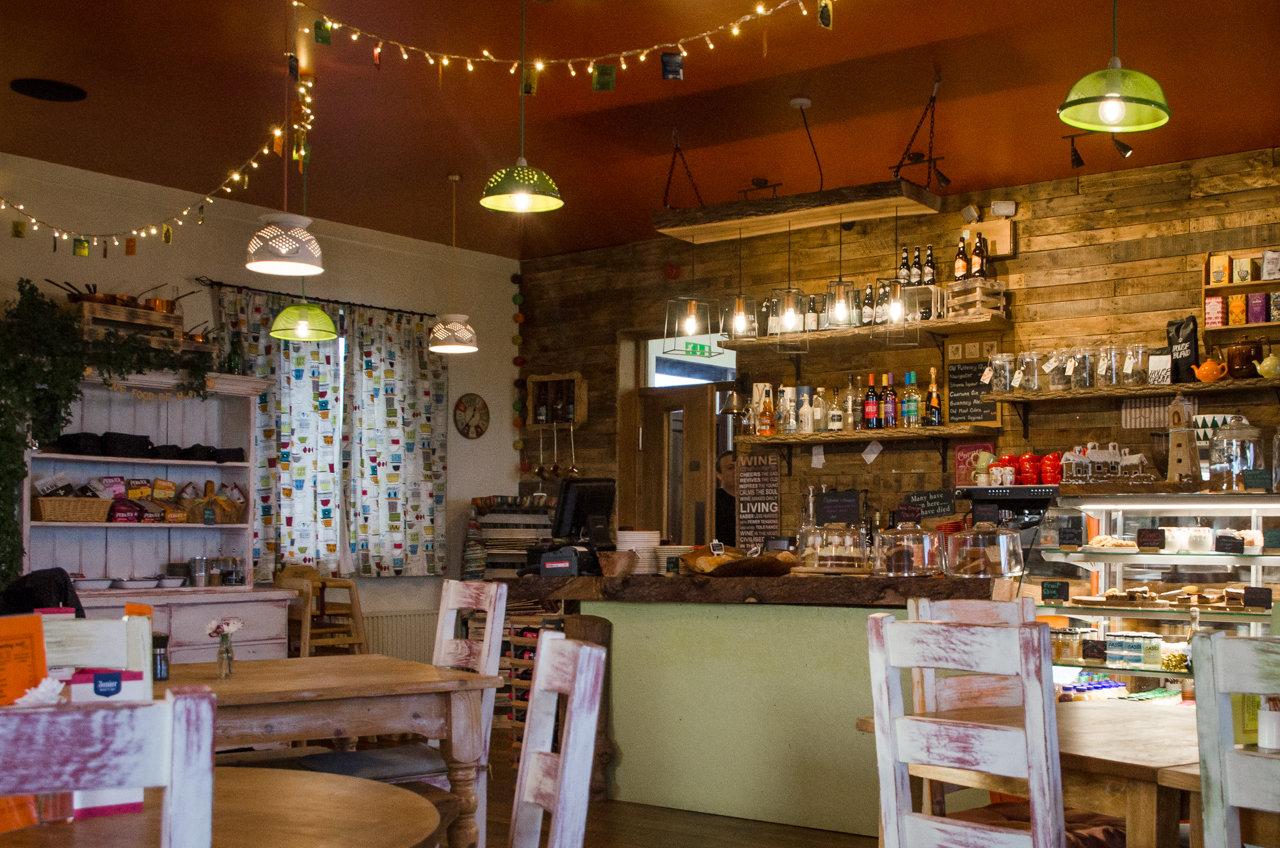 NC500 - Caithness - The Stacks Cafe at John o'Groats