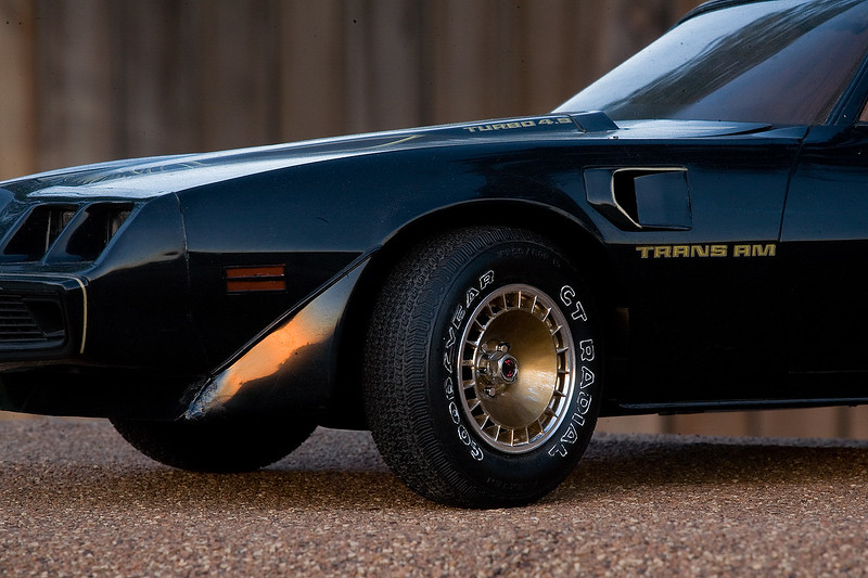 My 1/8-scale Trans Am.