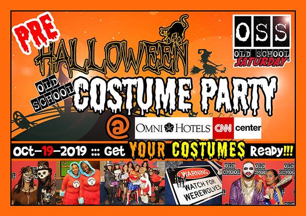 Oct-19-2019 OSS @ Omni at CNN Center ::: PRE-Halloween COSTUME Party ::: ATL, GA, USA