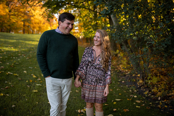 Ashley + Riley | West Bend Country Club Engagement Session