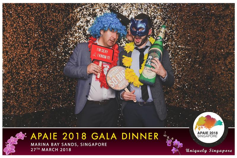 APAIE Gala Dinner 2018 | © www.SRSLYPhotobooth.sg