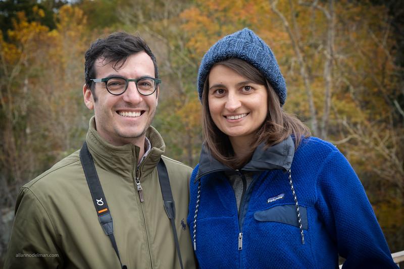 Lonny and Adisa at Great Falls