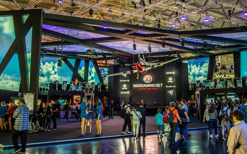 Wargaming booth at Gamescom 2013