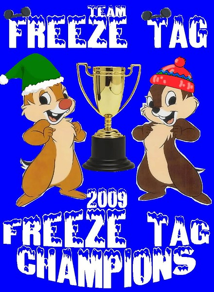 """Team 112: Freeze-Tag [""""We thought it would be a good fit since winter/freeze go together. And the first Reindeer Game we thought of was Freeze Tag. So, short story long.... here it is!""""]"""