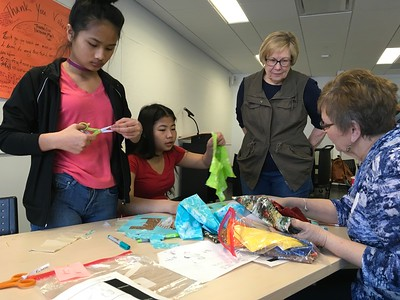 Stories Told Through Collaborative Quilt Project