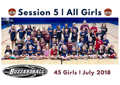 SESSION 5 | All Girls | 45 Campers
