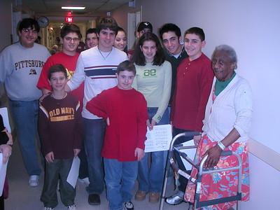 GOYA Christmas Caroling - December 14,2002