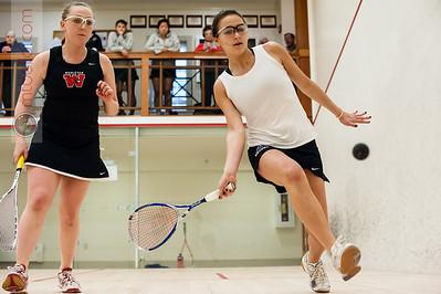 2014-01-26 Arielle Lehman (Amherst) and Lauren Nelson (Wesleyan)