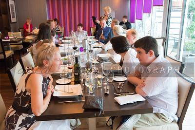 Hutton pre-wedding dinner
