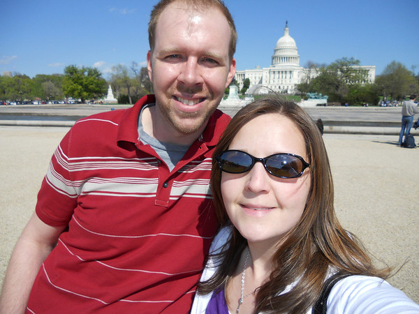 Melissa and Brian's trip to Wash, DC April 2011