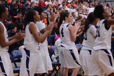Oswego East Varsity Girls Basketball Vs Oswego 2012