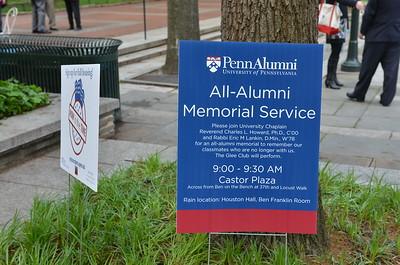Alumni Memorial Service