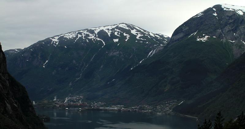 Eitrheim village across the fjord (not too sure)