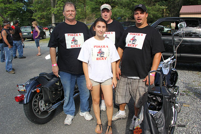 Ride For Ricky Benefit, West Penn Rod & Gun Club, West Penn (9-1-2012)