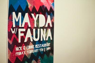 Mayda and Fauna live at Nick and Eddie's