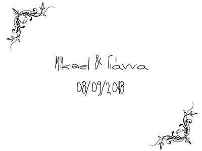 Mikael & Yianna 08/09/2018