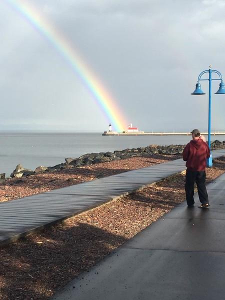 Rainbow in Duluth