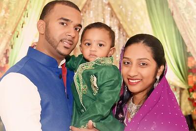 Akash's 1st Birthday Pooja