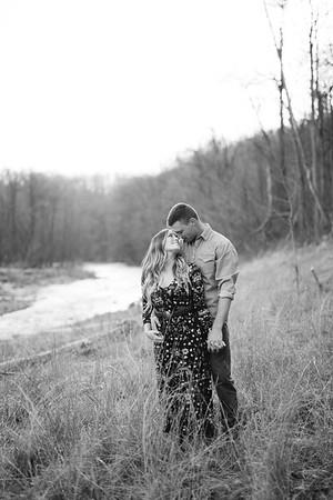 Danielle + Kyle BW