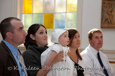 Wes's Christening