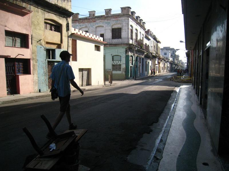 In Centro Habana on the way to Habana Vieja