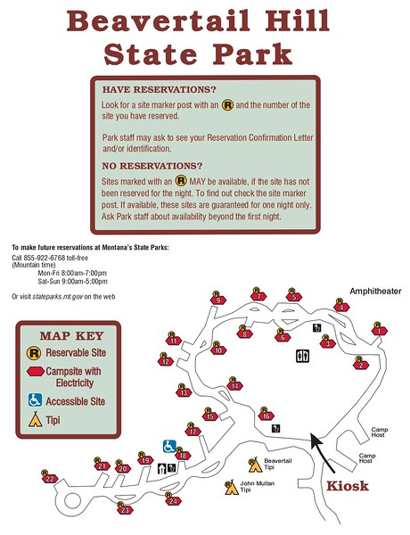 Beavertail Hill State Park (Campground Map)